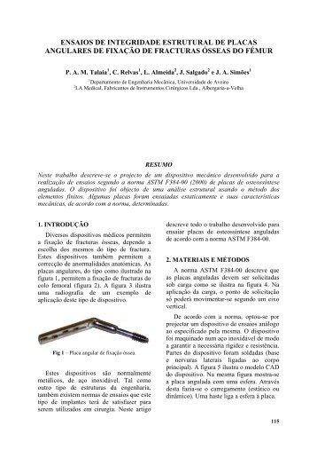 ENSAIOS DE INTEGRIDADE ESTRUTURAL DE PLACAS ... - Lnec