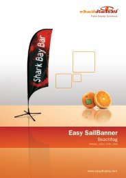 Easy Sailbanner - Easydisplay.com
