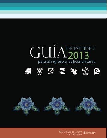 descarga la guía de estudios en formato pdf - Escuela Nacional de ...