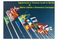 Agriturismo e Turismo rurale in Sicilia di Mario Liberto e Domenico ...