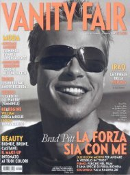 Firenze Speaks english - Vanity Fair (27/05/2004 - Una Hotel