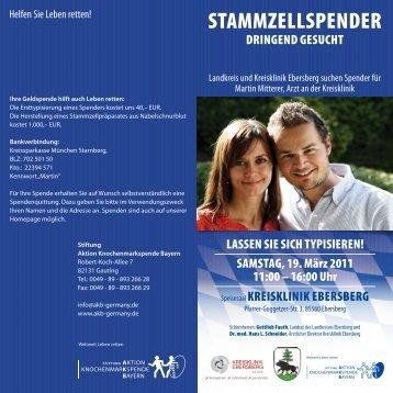 StammzellSpendeR - Kreisklinik Ebersberg GmbH