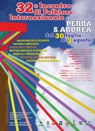 scarica la brochure del Festival - Incontro di Folklore Internazionale ...