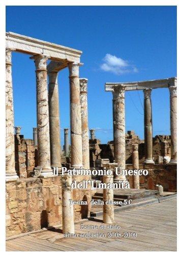 Il Patrimonio Unesco dell.docx - Mlbianchi.altervista.org
