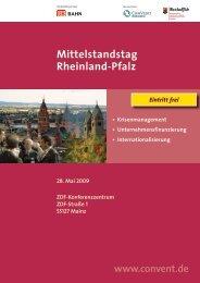 Mittelstandstag Rheinland-Pfalz - Systag