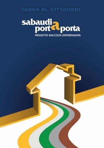 Istruzioni per differenziare i rifiuti.pdf - Comune di Sabaudia