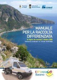 manuale per la raccolta differenziata - Comune di Barano d'Ischia
