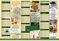 Kalender - Hotel Restaurant Hubertus