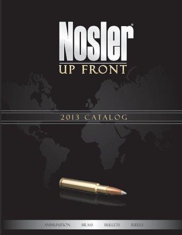 2013 catalog layout.indd - Nosler