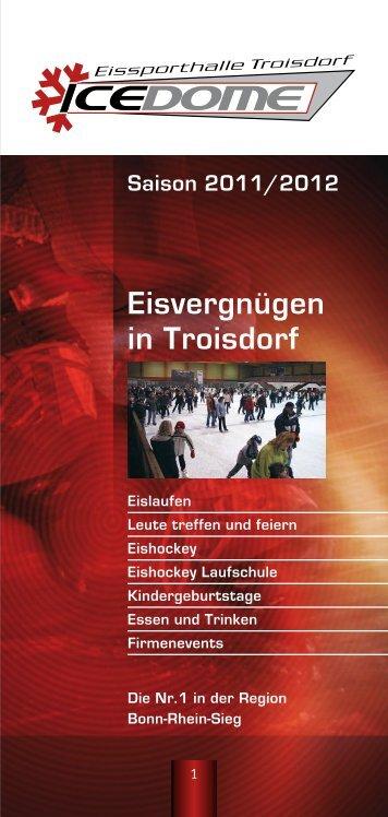 Eisvergnügen in Troisdorf - Eissporthalle Troisdorf
