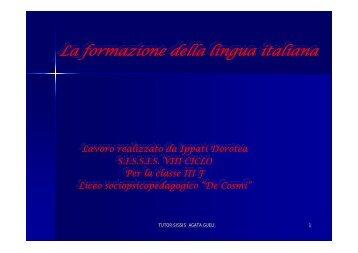 La nascita della letteratura volgare - Mattioda