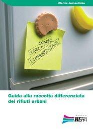 Guida alla raccolta differenziata dei rifiuti urbani - Il Gruppo Hera