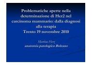 Casi dell' U. O. Anatomia Patologica Ospedale ... - Progettoeventi