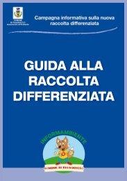 GUIDA ALLA RACCOLTA DIFFERENZIATA - Comune di Tavagnacco