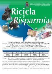 Ricicla & Risparmia - Comune di Desenzano del Garda