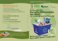 Raccolta Differenziata dei rifiuti - Comune di Bussi sul Tirino