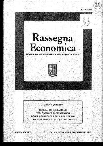 Page 1 Page 2 REGOLE DI DEFLAZIONE. VALUTAZIONE E ...