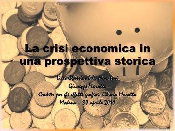 Globalizzazione e crisi economica