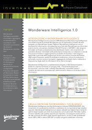 Wonderware Intelligence 1.0