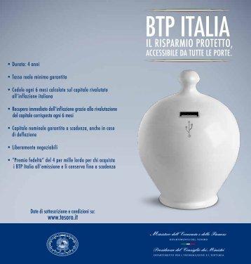 BTP ITaLIa - Invest Banca