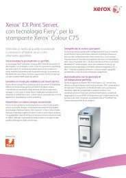 Xerox EX Print Server, Powered by Fiery® for the Xerox C75