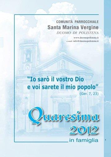 """""""Io sarò il vostro Dio e voi sarete il mio popolo"""" - Duomo Polistena"""