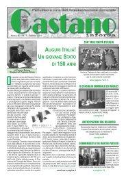 castanomarzo 2011 - Comune di Castano Primo