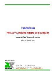 vademecum privacy & misure minime di sicurezza - AziWin Eleva