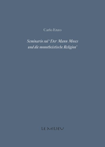 Seminario sul 'Der Mann Moses und die monotheistische Religion'