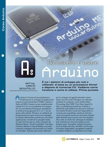 Corso Arduino