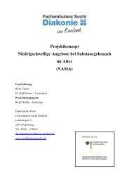 Konzepte - Diakonieverbund Sucht Osnabrück-Emsland