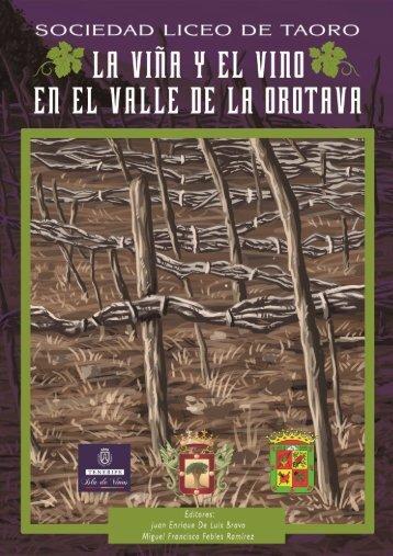 La Viña y el Vino en el Valle de La Orotava