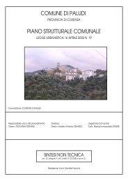 Sintesi non tecnica - Regione Calabria