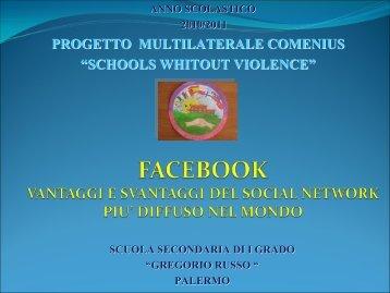 vantaggi e svantaggi di facebook - Gregorio Russo