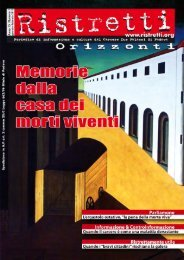 scarica la copertina in pdf - Ristretti.it