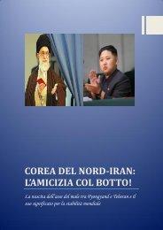 COREA DEL NORD-IRAN: L'AMICIZIA COL BOTTO! - NO PASDARAN