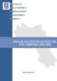 Rapporto di Valutazione - VIA - Regione Campania