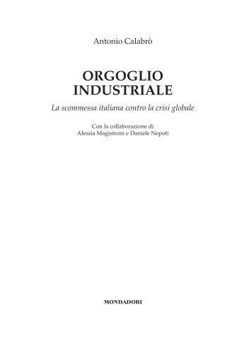 leggi in anteprima un capitolo del libro - Affari Italiani