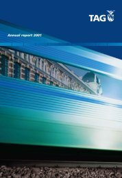 Annual Report 2001/ english - TAG Immobilien AG
