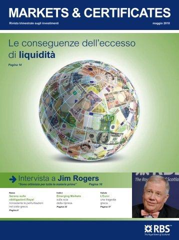 MARKETS & CERTIFICATES - RBS Markets - Italia