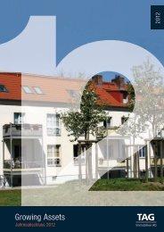Jahresabschluss 2012 - TAG Immobilien AG