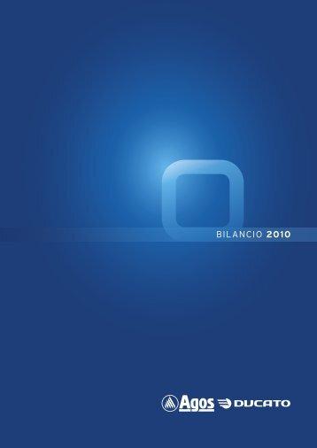 BILANCIO 2010 - Agos Ducato