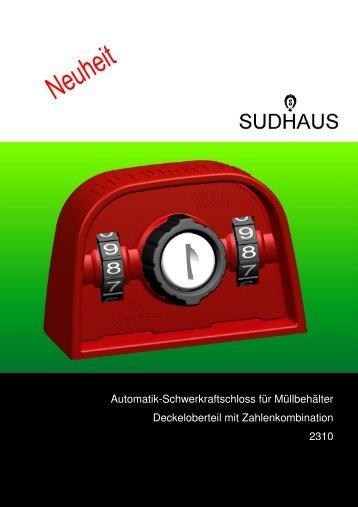 Automatik-Schwerkraftschloss für Müllbehälter ... - sudhaus