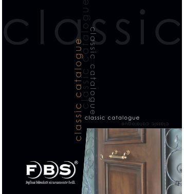 Classic catalogue - FBS