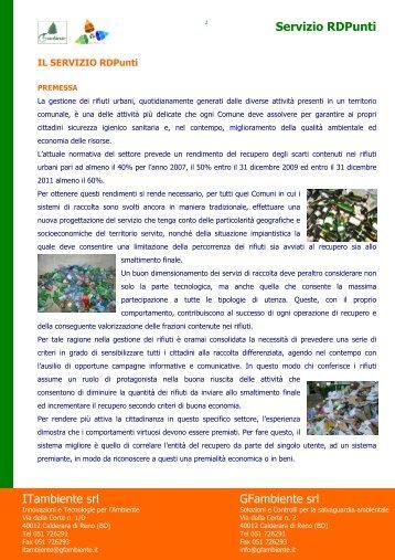 Scarica la brochure - GF ambiente