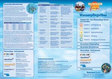 Wasserpflegefibel (PDF) - Summer Fun