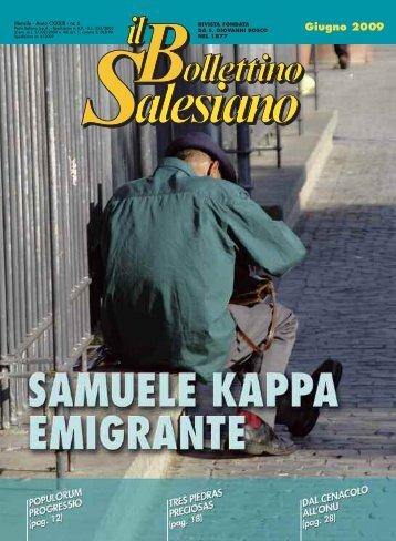 Giugno 2009 - il bollettino salesiano - Don Bosco nel Mondo