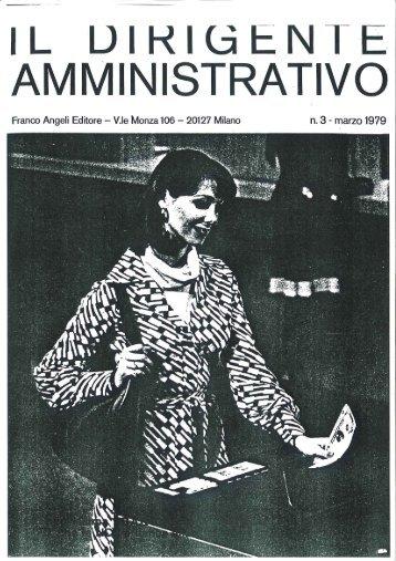 Page 1 marzo 1979 n.3 i Editore - V.Ie Monza 106 20127 Milano ML ...