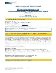 Foglio Informativo Sovvenzione Chirografaria - Banca Popolare del ...