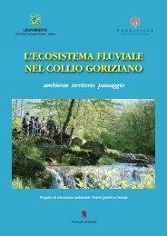 l'ecosistema fluviale nel collio goriziano - Laboratorio di urbanistica 2